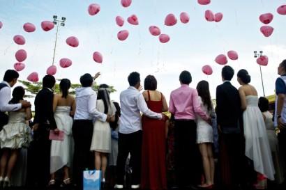 MALAYSIA-VALENTINE-WEDDING